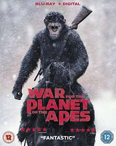 War For The Planet Of The Apes Blu-Ray + Digital - Amazon - £6.80 (Prime) / £8.79 (non Prime)