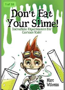 Free Kids Book Don't Eat Your Slime (rrp £9.99)