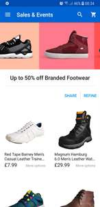 Up to 50% off(some more than 50%) men women footwear - ebay /  expresstrainers