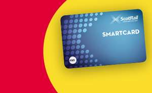 Claim up to £89 if you use a Scotrail Smartcard.