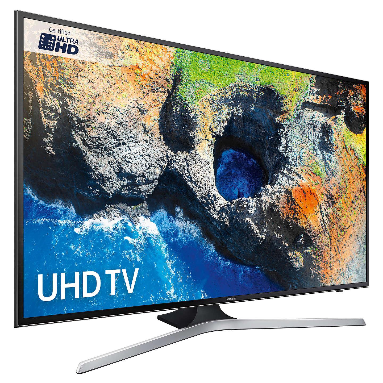 "Samsung UE50MU6120 HDR 4K Ultra HD Smart TV, 50"" £439 at John Lewis with Price match (Crampton and Moore)."