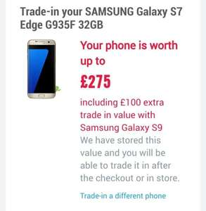 Samsung trade in offer for Samsung galaxy s9 with sim only attached @ carphone warehouse (12 month contract)