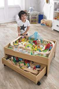 Reversible City and Train Table Set £44.99 + £5 delivery at  Studio