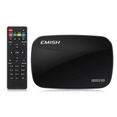 EMISH X700 Smart TV Box  -  UK PLUG  BLACK (£12.41 with code) @ Gearbest
