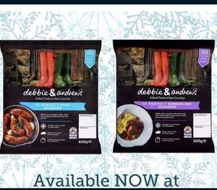 10pack Debbie & Andrews Sausages £1.50 @ Heron Gluten free!