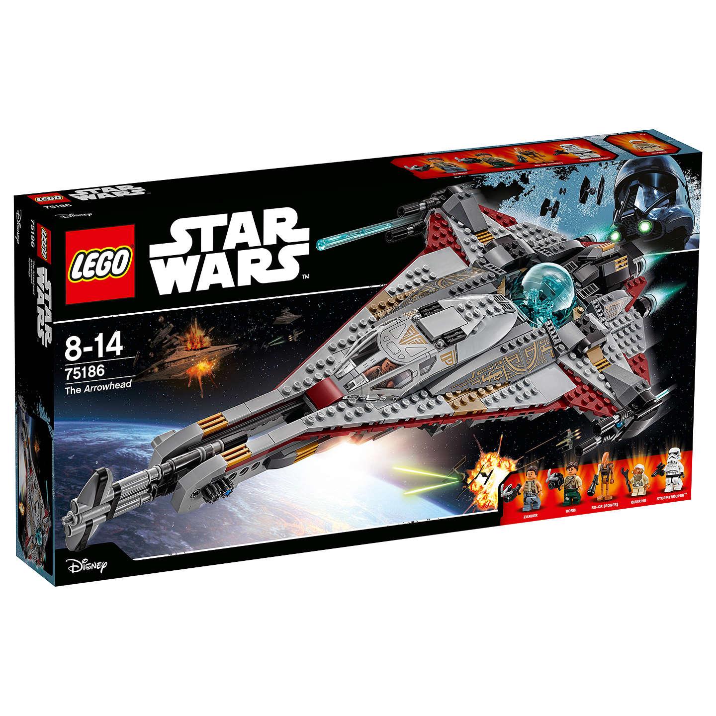 LEGO Star Wars 75186 The Arrowhead £48.99 @ John Lewis - Free c&c