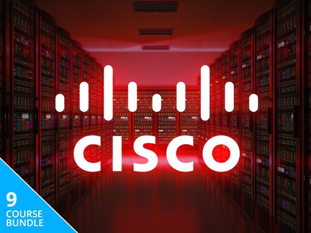 Ultimate Cisco Certification Super Bundle: Lifetime Access (9 Part Course) £20.63 with code @ Stacksocial
