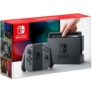 Nintendo Switch 32GB Grey and Neon Blue Red Refurb w/ 12 month warranty £230 + £3 P+P Tesco Outlet eBay