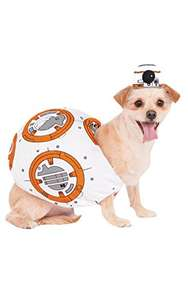 Official Rubie's Star Wars BB-8 Pet Dog Costume, Size: X-Large £4.28 Add On Item / Minimum Spend £20 @ Amazon (other sizes from £5.19)