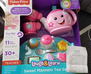 Fisher Price Tea Set - £3.50 @ Tesco -  Kings Lynn