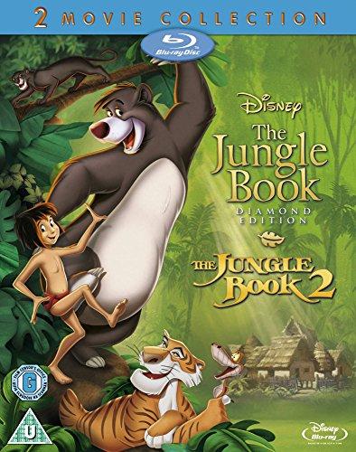 The jungle book 1&2 bluray £3.78 Amazon