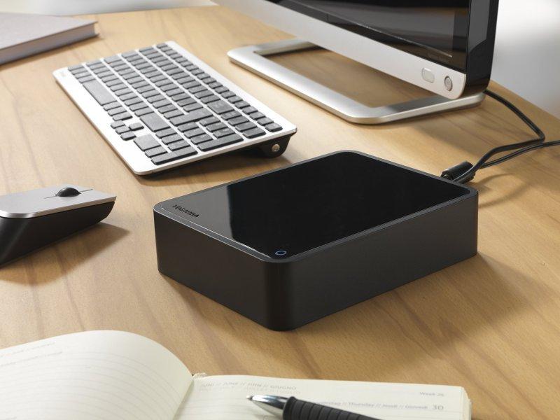 "Toshiba Canvio Desktop 3TB 3.5"" USB 2.0/3.0 External Hard Drive Gloss Black £67.98 @ ebuyer"