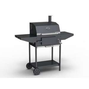 Charcoal American Grill BBQ with Chimney Smoker Function - Includes BBQ Cover Utensil Set and Charcoal Starter £99.97 @ Appliances direct - Free c&c