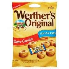 Werthers Original Sugar Free Butter Candy 80G 2 bags for £1.50 Tesco