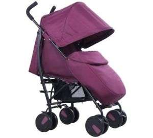 Cuggl Maple Pushchair Stroller Package Inc Raincover and Footmuff-Mullberry £54.99 ebay / babzeeoutlet