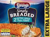 Youngs Extra Large Breaded Fish Fillets £1 @ Farmfoods