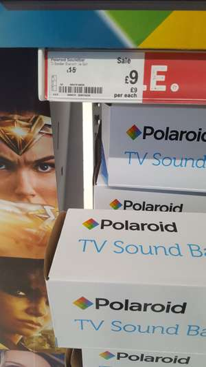 Polaroid sound bar cheap as chips or 3 pints in my local  £9 @ Asda Huyton Liverpool