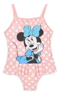 Baby Girl Pink Minnie Mouse Swimsuit £5 @ Primark