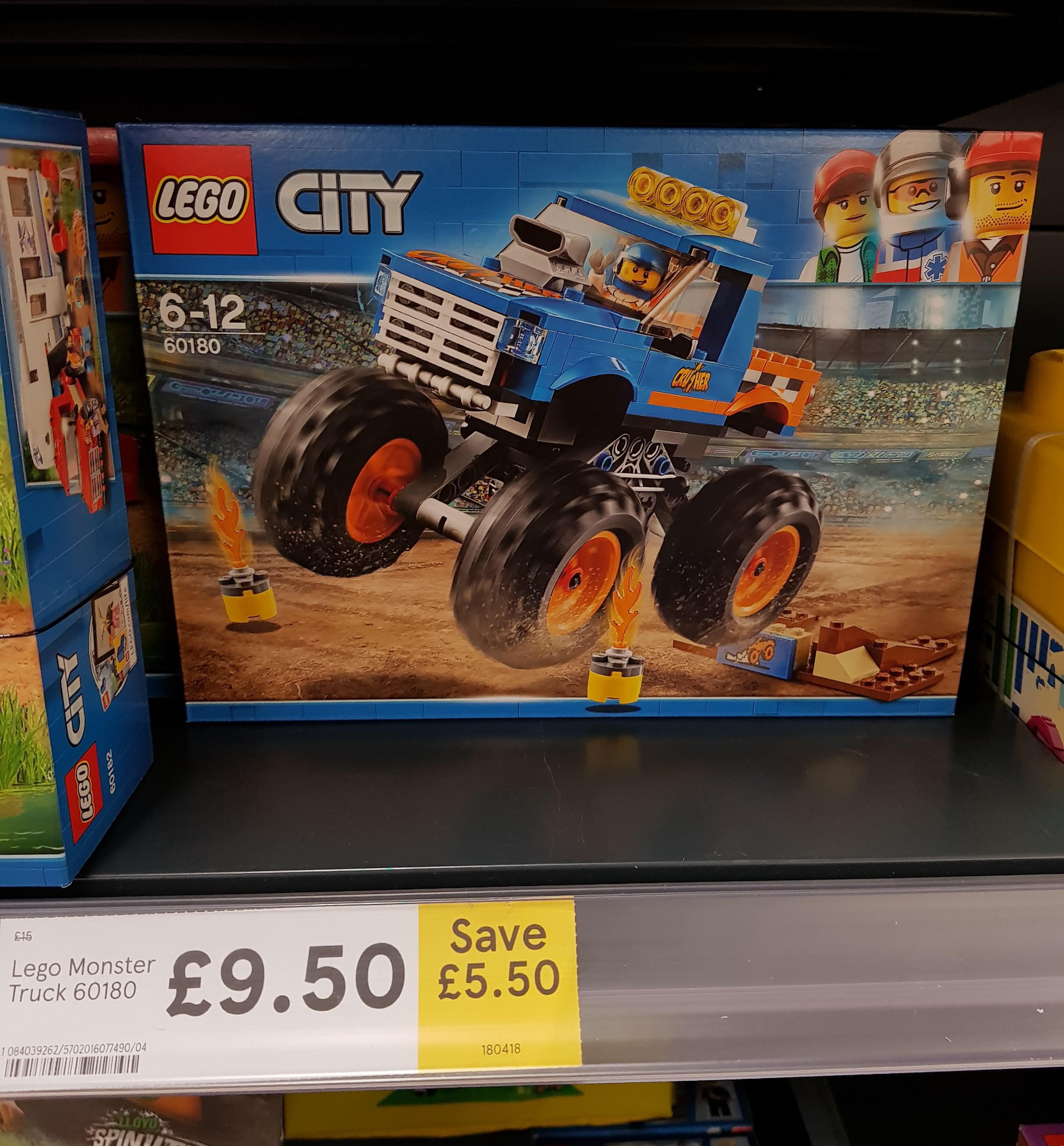 Lego City Monster Truck, £9.50 @ Tesco, Hemel Hempstead