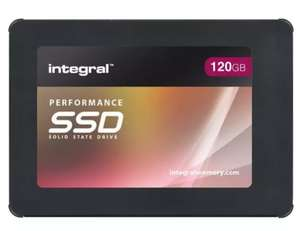 Integral 120 GB SSD Deal Back in stock £24.99 @ Mymemory