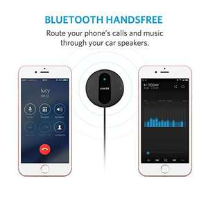 Anker SoundSync Drive Bluetooth handsfree receiver and music player 18 month warranty £11.99 prime / £15.98 non prime Sold by AnkerDirect and Fulfilled by Amazon