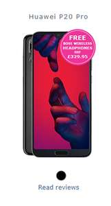 Huawei P20 Pro, 32GB 4G data, unlimited minutes, unlimited texts for £45 a month / 24 months £1080 with no upfront cost with Vodafone  @ fonehouse
