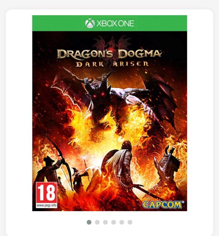 Dragon's Dogma Dark Arisen £7.00 Xbox one @ Smyths Toys