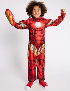 Kids' Iron Man™ Dress Up Costume now from £3.89 (down from £20) @ M&S
