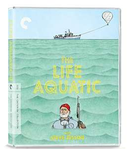 The Life Aquatic with Steve Zissou [The Criterion Collection] [Blu-ray] £17.99 (Prime) £19.98 (Non Prime) at Amazon