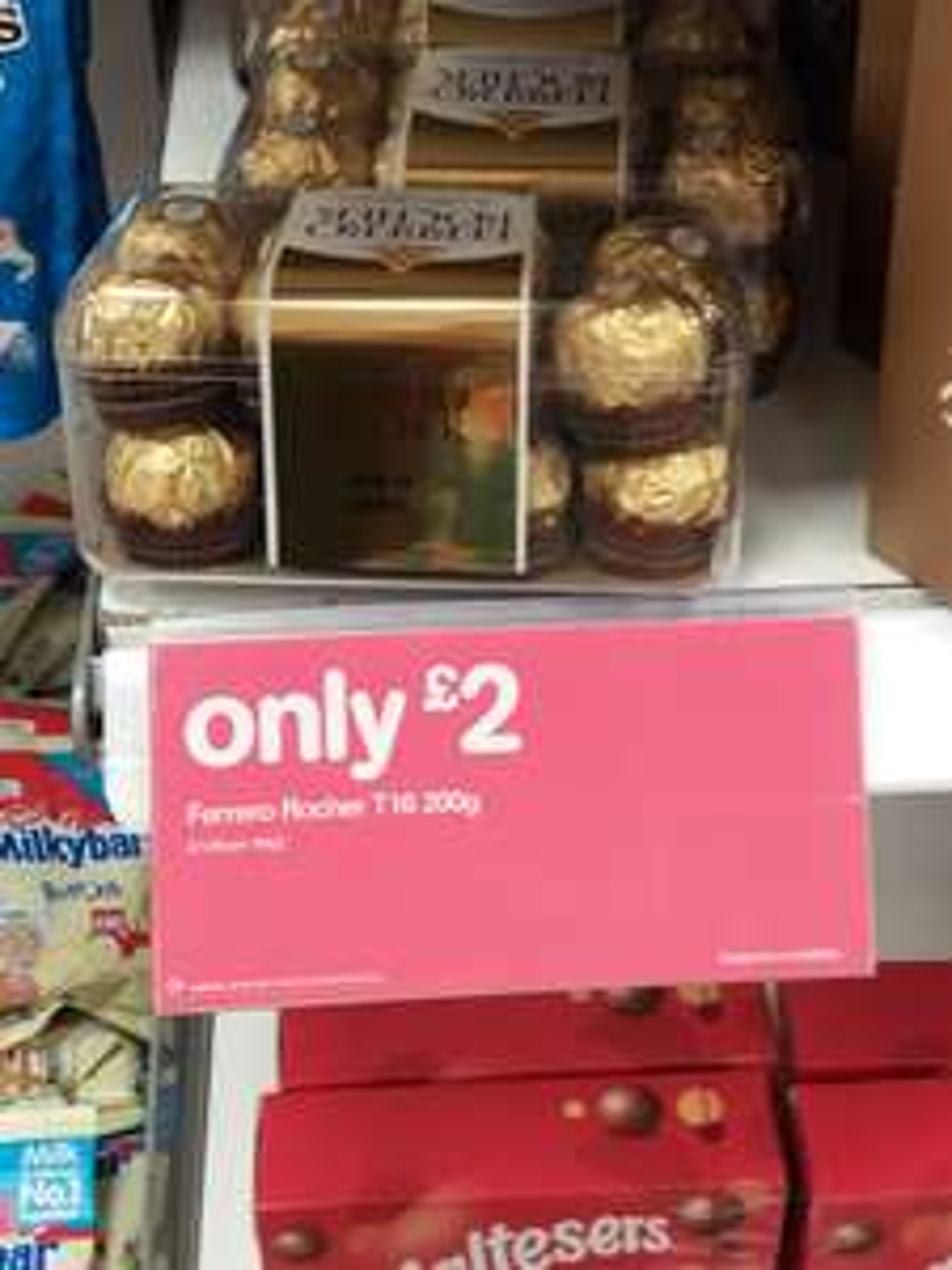 Ferrero rocher 16 piece £2 boots instore (Chatham)