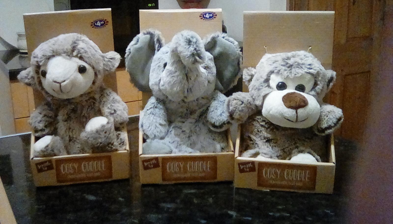 Cosy Cuddle Heat Bag £1.99 (was £4.99) @ B&M