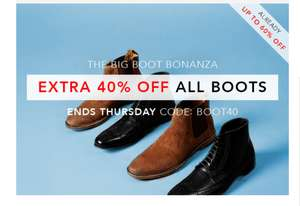 Extra 40% OFF All Boots Inc Sale by SHOEAHOLICS