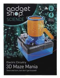 Gadget Shop Science Electric Circuitry 3D Maze Mania £3.49 + Free Store Delivery @ WHSmith