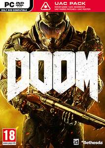 DOOM (2016) PC New Boxed - Steam Activation at GAME online £4.99 delivered