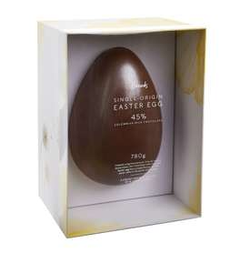 Harrods Single-Origin 45% Colombian Milk Chocolate Easter Egg £20 + £5.95 P&P