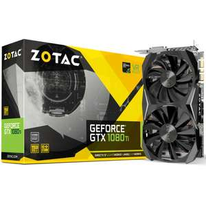 Zotac 1080TI mini   - cheapest 1080TI available - £699.89 Delivered @ Overclockers