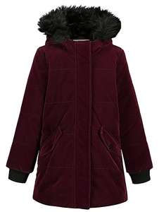 Girls hooded padded coat 8-9,9-10 yrs £12 was £24 @ Asda George