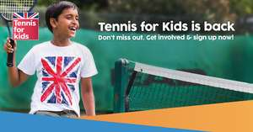 6 kids tennis lessons, plus racket, balls & t-shirt (Tennis for Kids 2018) - £25 @ LTA