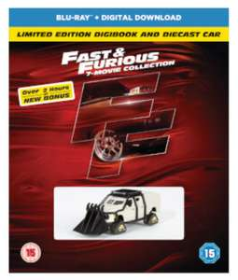 FAST & FURIOUS 1-7 (INCLUDES BONUS DISC, DIGIBOOK, AND CAR) BLU-RAY £10.19 (w/code - VCUK15) @ Zavvi