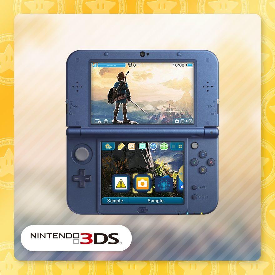 Zelda BOTW Theme [3DS] 20 Gold + more @ Mynintendo
