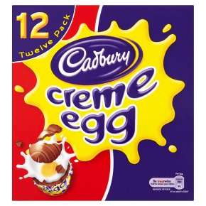 Cadbury Creme Egg 12 pack £1 @ Waitrose or £1.20 @ Sainsbury's / Celebrations Sharing Pouch 450g 75p / Medium Creme Eggs Easter Egg 37p @ Waitrose