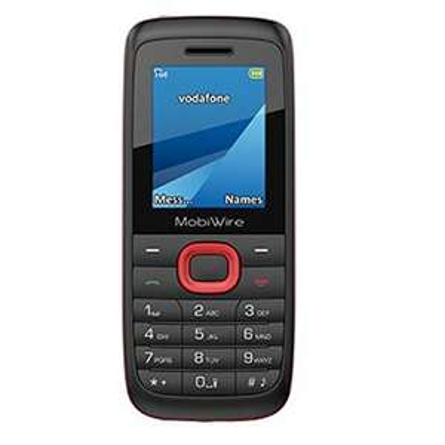 Vodafone Original Mobiwire Ayasha Pay As You Go Smartphone Locked to Network - Black £5 (Prime) / £8.99 (non Prime)  @ amazon
