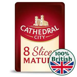 Cathedral City 8 Slices Mature Cheese 150g - £1 at Morrisons