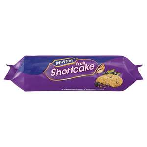 McVitie's Fruit Shortcake 200g - 50p @ Morrisons