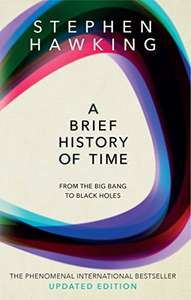 A Brief History Of Time: From Big Bang To Black Holes - £3.99 (Prime) £6.98 (Non Prime) @ Amazon