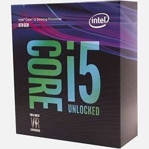 IIntel 8600k for £212.78 direct from Amazon (£207.28 using Amazon Assistant £5 off £25 spend)