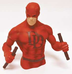 Marvel Daredevil Bust Money Bank £6.98 delivered @ Zavvi