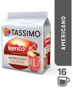 Tassimo pods Kenco & L'Or including the XL ones 3 for £10 at Asda