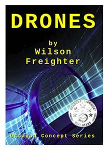 Octagon Concept Series Books 1 - 4  Kindle Editions - Free sci fi Amazon Kindle series of ebooks by UK writer