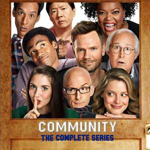 Apple iTunes Complete Tv Boxsets Community / Justified / Dawson's Creek / The Shield / Damages - £19.99 each